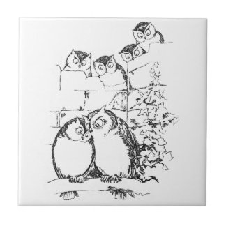 Wooing Owl Has an Audience Tile