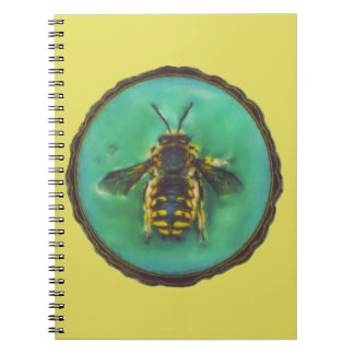 Wool Carder Bee Notebooks