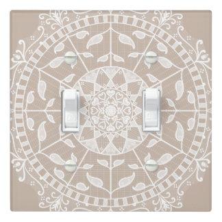 Wool Mandala Light Switch Cover