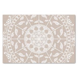 Wool Mandala Tissue Paper