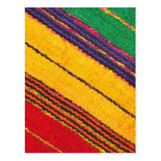 Wool texture postcard