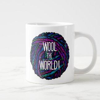 Wool the World! Jumbo Mug