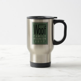 Woolf Family Reunion 2017 SS Travel Mug