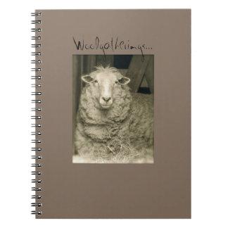 """Woolgatherings"" notebook from Notforgotten Farm"