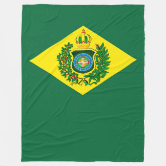 Woollen blanket Imperial Flag of Brazil