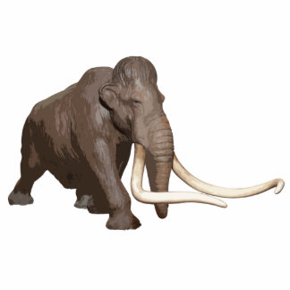 Woolly Mammoth Cutout Acrylic Cut Outs