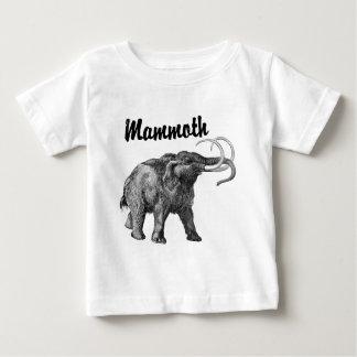 Woolly Mammoth design Baby T-Shirt