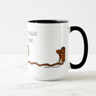 Woolly Mammoth Love Mug