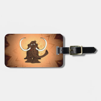 Woolly Mammoth Luggage Tag