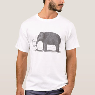 Woolly Mammoth Mastodon Extinct Species T-Shirt