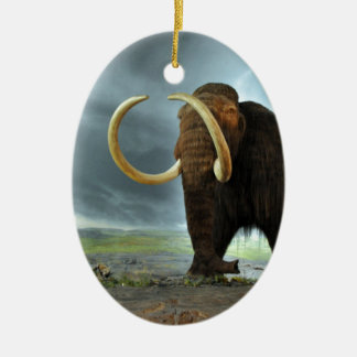 Woolly Mammoth Mod Destiny Ceramic Ornament