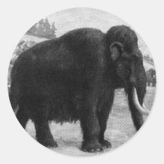 Woolly Mammoth Mod Destiny Classic Round Sticker
