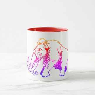 Woolly Mammoth Mug Multi-color