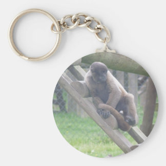 Woolly Monkey Key Ring, Animals Collection Keychain