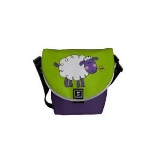 Woolly sheep commuter bag