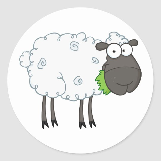Woolly Sheep Stickers