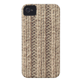 Woolly warmer beige iphone 4S barely case