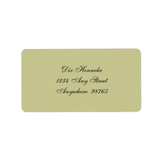 Woolson Spice Company Greeting Label