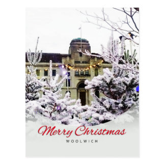 Woolwich - Christmas Postcard