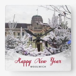Woolwich - New Year Clock