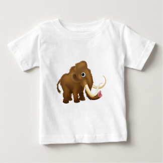 Wooly Mammoth Cartoon Baby T-Shirt