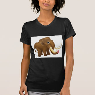 Wooly Mammoth Cartoon T-Shirt