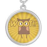 Woot cute owl pendants