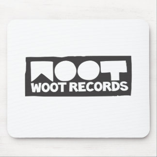 Woot Records Stuff Mouse Pad