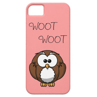 Woot Woot Owl  CaseMate iPhone 5 Case