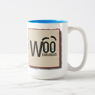 WooWearables-branded 15oz mug
