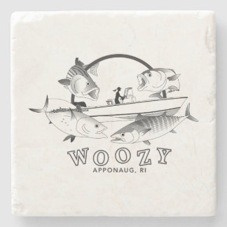 Woozy Seacraft Inshore Grand Slam Stone Coaster