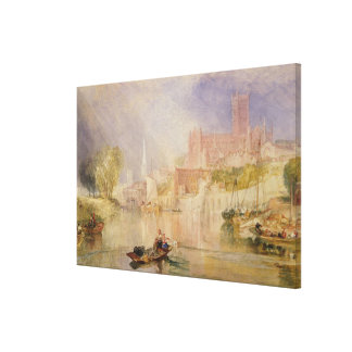 Worcester Canvas Print