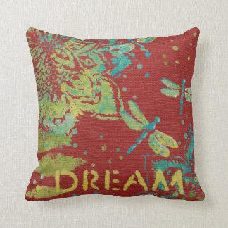 Word Art - Dream Throw Pillow