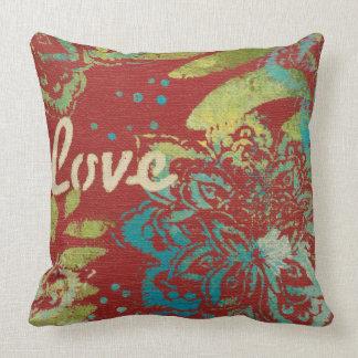 Word Art - Love Throw Pillow