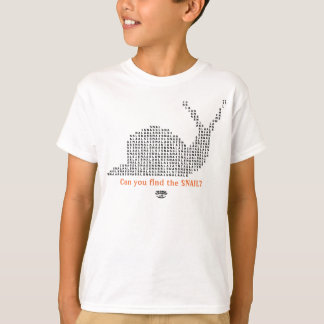 Word Games T-Shirts - Snail (Dark)