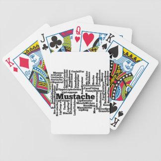 Word mashup bicycle playing cards