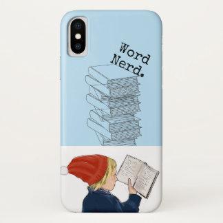 Word Nerd phone case