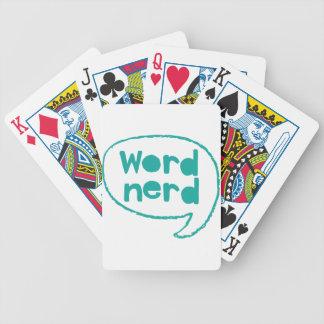 word nerd poker deck