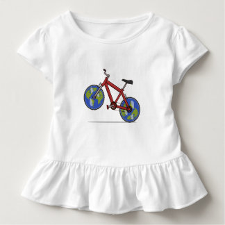 Word Push bikist Toddler T-shirt