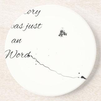 Word Quote Coaster