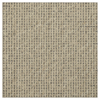 Word Search: Spells on Parchment Fabric