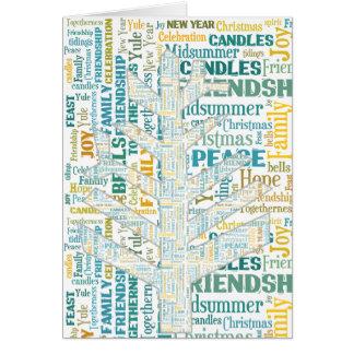 Word Tree #3 Card