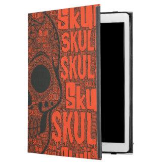 "WordArt Skull B iPad Pro 12.9"" Case"