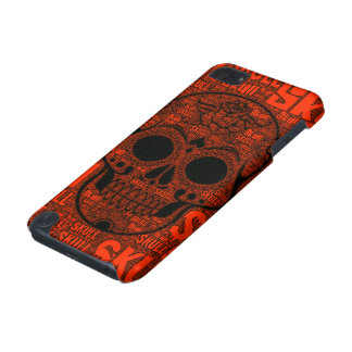 WordArt Skull B iPod Touch (5th Generation) Case