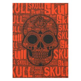 WordArt Skull B Tablecloth