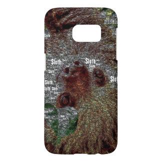 WordArt Sloth Samsung Galaxy S7 Case