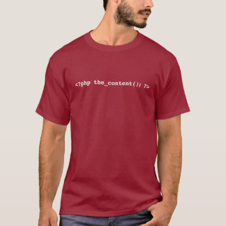 WordPress Developer T-Shirt