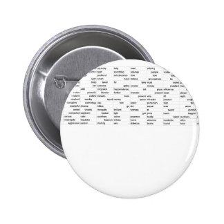 words 2 inch round button