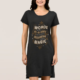 Words Are Our Most Inexhaustible Source Of Magic Dress