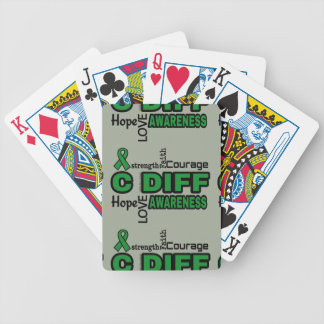 Words...C Diff Bicycle Playing Cards